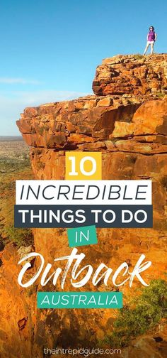 Darwin to Alice Springs: 10 incredible things to see in Outback Australia - Travel Ideas 2019 Brisbane, Perth, Melbourne, Great Barrier Reef, Travel Guides, Travel Tips, New Zealand Travel, Going On Holiday, Australia Travel