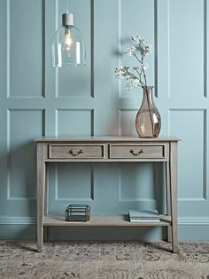 Grey Console Table - Dining, Coffee & Side Tables - Luxury Home Furniture Gray Console Table, Industrial Console Tables, Hallway Console, Luxury Home Furniture, Entryway Furniture, Entryway Decor, Entryway Tables, Iron Table, Hallway Decorating