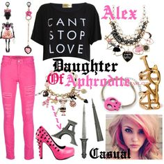 """""""Aphrodite"""" by daughter-of-artemis-real on Polyvore"""