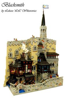 CCC without me, lol? No!  Here is my creation for CCC XII for Castle Building category.  Brickshelf