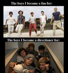 Directioner ∞ this pic explains it very clearly<< memories Niall:wat r u doin? Louis: putting on my hat wat the hell does it look like?!