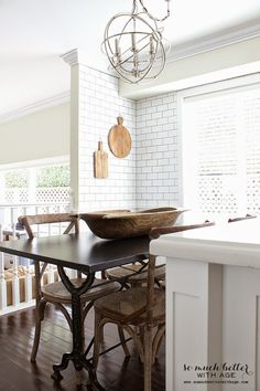 Feature Friday: So Much Better with Age: Kitchen and Dining Room