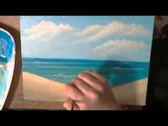 How to Paint a Seascape in Acrylics Part Two