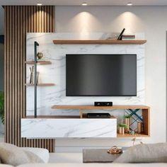 Living Room Partition Design, Living Room Tv Unit Designs, Room Partition Designs, Tv Wall Design, Tv Unit Interior Design, Tv Unit Furniture Design, Home Para Tv, Home Tv, Home Decor Bedroom