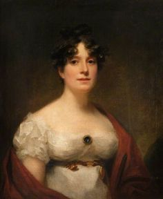 Portrait of Mrs Lumsden by Sir Henry Raeburn (Scottish 1756-1823)