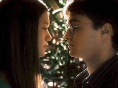 Cho Chang and Harry Potter