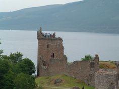 Lock Ness Castle Scotland