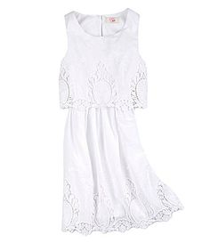GB Girls 716 Embellished Popover Dress #Dillards