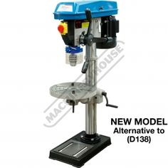 The little old drill press is beginning to show its flaws.something like this might be a nice upgrade. machineryhouse.com.au - $352aud