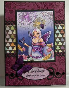 WP Sweet Pea Anniversary Celebration by WickedPixie - Cards and Paper Crafts at Splitcoaststampers