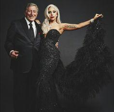 Lady Gaga & Tony Bennet http://perugiacountryhouse.blogspot.it/2015/04/tony-bennet-e-lady-gaga-in-concerto.html