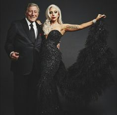 Lady Gaga & Tony Bennet http://perugiacountryhouse.blogspot.it/2015/04/tony-bennet-e-lady-gaga-in-concerto.html