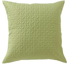 Vivid Coordinates European Pillowcase Herbal Green - Shop