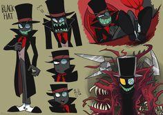 Black Hat Credits to the artist Cartoon Fan, Cartoon Shows, Cartoon Network, Character Creation, Character Design, Fanart, Villainous Cartoon, Movie Characters, Fictional Characters