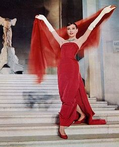 Funny Face publicity still.   Copyright © Paramount Pictures.