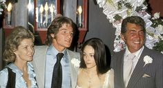 Wedding of Dino Martin JR and Olivia Hussey. Wow this brings back memories.