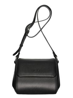 GOSHICO, cross body bag, black. To download high or low resolution photos view Mondrianista.com (editorial use only).