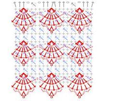 ath þetta er kjóll, en ath má nota munstrið í sjal eða trefil?             http://zeliacrochet.blogspot.com/2011/02/vestido-prata.html