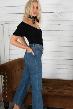 64ddae8c41 Wasson Tee Bodysuit - Black – Style Addict