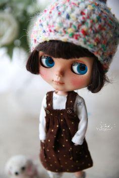 Yuan je Blythe nastaví klobouk šaty šaty / outfit