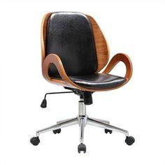 Desk Office Chair in Black
