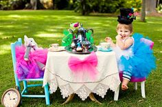 {Real Parties} Mad Hatter Hawaiian Tea Party