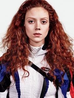 Cross-Fit Fashion  Publication: T Magazine March 2017  Model: Natalie Westling  Photographer: Craig McDean  Fashion Editor: Marie-Amelie Sauvé  Hair: Eugene Souleiman  Make Up: Peter Philips