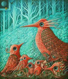 Magical Birds VIII by FrodoK.deviantart.com on @DeviantArt