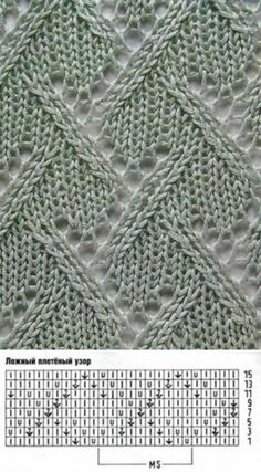 Find and save knitting and crochet schemas, simple recipes, and other ideas collected with love. Lace Knitting Patterns, Knitting Stiches, Knitting Charts, Lace Patterns, Knitting Designs, Knitting Needles, Baby Knitting, Stitch Patterns, Knit Crochet
