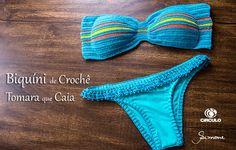 Free Summer, Summer Fun, Love Crochet, Crochet Bikini, Swimwear, How To Wear, Patterns, Handmade, Fashion