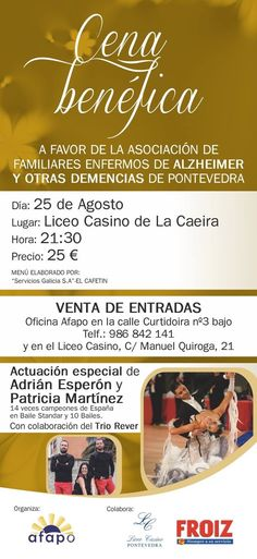 Alzheimer, Ticket Display, August 25, Sick, Sporty, Dancing