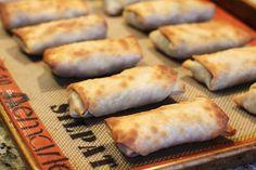Recipe: Baked Not Fried Pork Egg Rolls