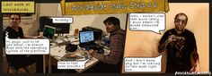 There it is: WorldAside's comic-strip #6 !    Every Monday, enjoy a comic-strip about our startup.    Follow us on Twitter @WorldAside or via the hashtag #WorldAsideComicStrip