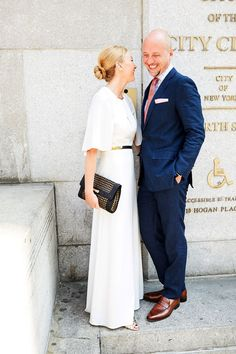 Charlotte does boho-elegant like a boss. #refinery29 http://www.refinery29.com/spring-city-hall-weddings-nyc#slide-14