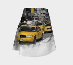 "Flare+Skirt+""Original+Digital's+New+York""+by+Original+Digital"