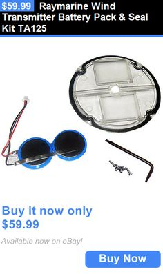 Other GPS Accs and Tracking: Raymarine Wind Transmitter Battery Pack And Seal Kit Ta125 BUY IT NOW ONLY: $59.99