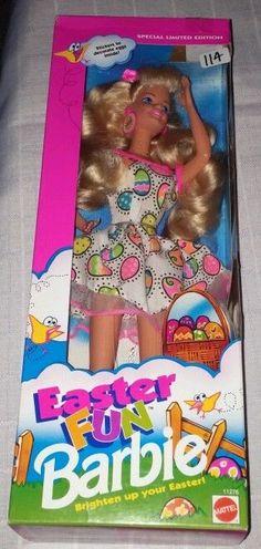 Brand New 1993 Special Limited Edition Easter Fun Barbie Mattel 11276 #Mattel #Dolls