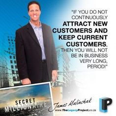 After growing-up in a small Pennsylvania steel-mill town near Pittsburgh as the son of a steelworker and a housewife – multi-millionaire James Malinchak is now one of most requested highest paid motivational and business speakers and business marketing coaches in America.