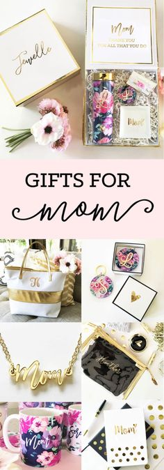 Love these gift options for moms! Gifts for moms!