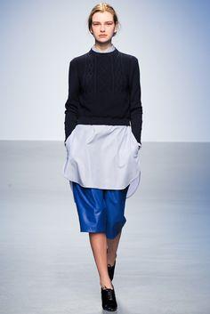 Richard Nicoll Fall 2014 RTW - Runway Photos - Fashion Week - Runway, Fashion Shows and Collections - Vogue