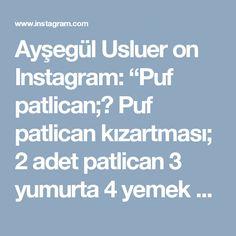 """Ayşegül Usluer on Instagram: """"Puf patlican;🍆 Puf patlican kızartması; 2 adet patlican 3 yumurta 4 yemek kaşığı un Kabartma tozu Tuz Yapilisi Yumurta un tuz ve kabartma…"""""""