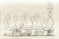 Archigram   Peter Cook   Instant City   1969                                                                                                                                                                                 Más