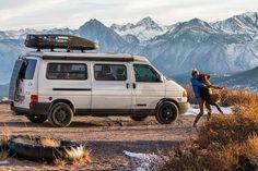 Dogs love traveling!  - #CamperLifestyle #VanlifeMagazine -  by @peakbeggar with @agirlandhervan
