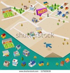 Building City Stock Vectors & Vector Clip Art   Shutterstock