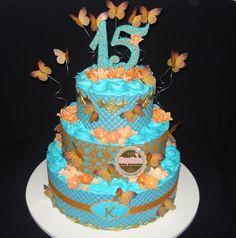 15 anos Azul Tiffany