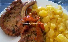 Una mariposa en mi cocina: Chuletas de cerdo al horno