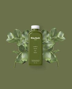 Carla | Klarheit Juice Co. Packaging Design Inspiration, Fashion Branding, Beauty Skin, Earthy, Juice, Perfume Bottles, Organic, Skin Care, Personal Care