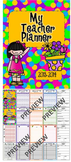 $ This Teacher Planner contains four Common Core planning sheets that can be used at all levels of elementary school!