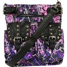 Monte Vista Muddy Girl Camo Women's Crossbody Handbag Purse - New Monte Vista http://www.amazon.com/dp/B00OBZP5NC/ref=cm_sw_r_pi_dp_SIpswb01XANX4