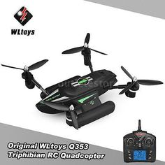 ﹩83.65. US Shipping Original WLtoys Q353 Triphibian 2.4G 6-Axis Gyro RC Quadcopter Drone    ASIN - B06XT2Y732, UPC - 708478203762
